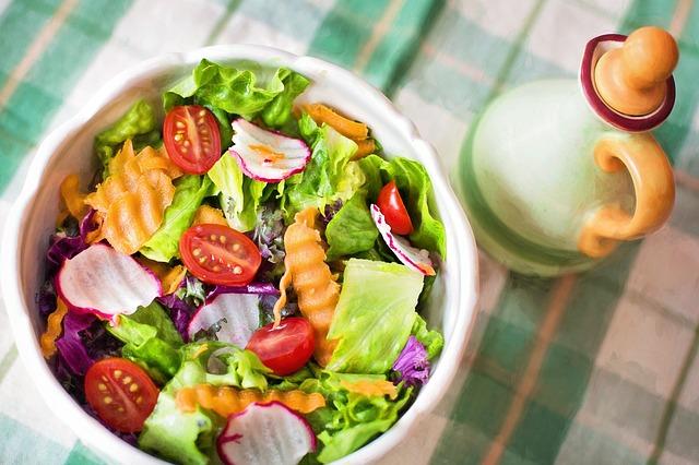 vegetariánský salát