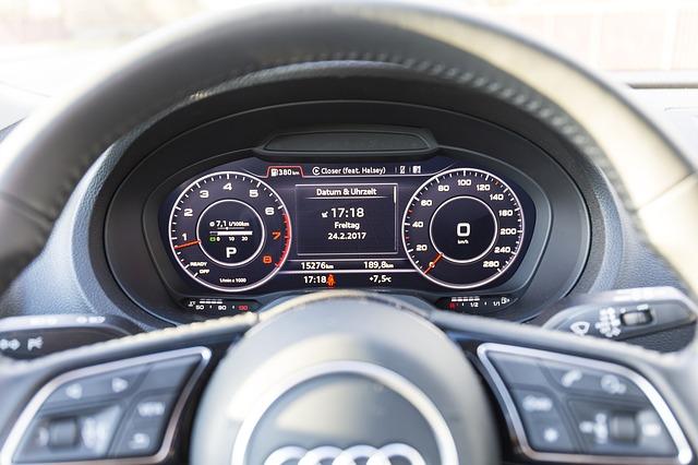 interiér Audi