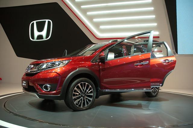 Honda na výstavě
