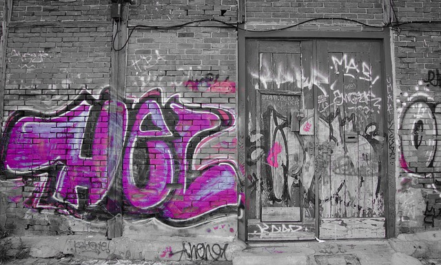graffiti stena