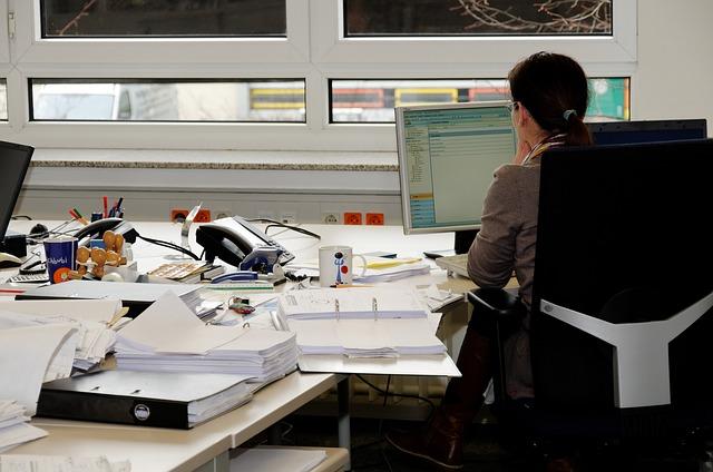 kancelář na úřadě